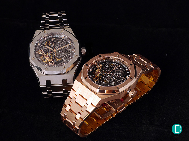 Audemars Piguet Royal Oak Frosted Gold Double Balance Wheel Openworked Replica